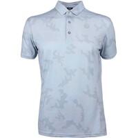 Galvin Green EDGE Golf Shirt - General Camo - White 2019