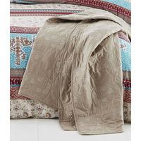 Catherine Lansfield Elephant Easy Care Bedspread 220 x 230 cm