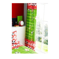 Football Pitch Curtains 72s - Red