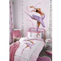 Catherine Lansfield Ballerina Wall Mural - 158 x 232 cm