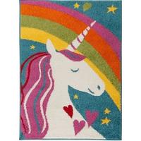 Unicorn Rainbow Rug 80 x 120 cm