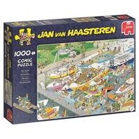 Jumbo 19067 Jan van Haasteren - The Locks Jigsaw Puzzle 1000 Piece