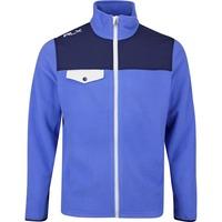 RLX Golf Pullover - Polar Fleece - Indigo Sky AW19