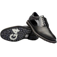 G/FORE Golf Shoes - Saddle Gallivanter - Onyx - Patent 2020