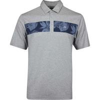 TravisMathew Golf Shirt - Everything Is Kewl Polo - Grey AW19