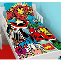 Marvel Comics Toddler Bedding - Strike