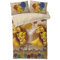 Lion King Double Duvet - Simba and Mufasa