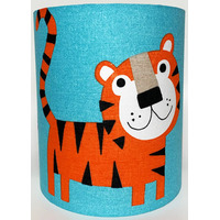 Animal Adventure Medium Fabric Light Shade - Tiger