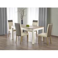 Arnold 3m Sonoma Oak & White Extendable Table