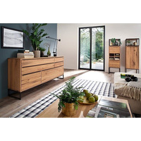 Dakota 184cm Large Oak Urban Sideboard