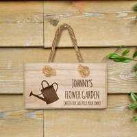 Weeds For Sale Wooden Hanging Sign