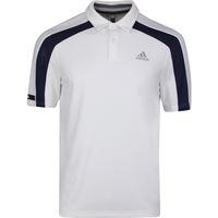 adidas Golf Shirt - Sport Heat Ready Polo - White SS20