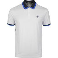 G/FORE Golf Shirt - Tux Polo - Snow - Twilight SS20