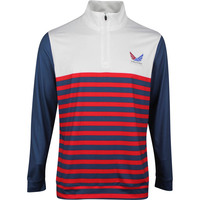PUMA Golf Pullover - Volition Allegiance QZ - Dark Denim SS20