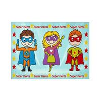 Superhero Rug 80 x 120 cm