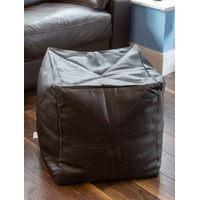 Brown Faux Leather Bean Cube - Cross