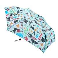 Eco Chic Mini Umbrella, Scottish Montage