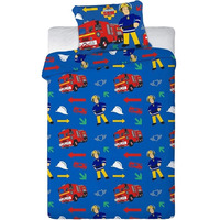 Fireman Sam Single Bedding Set