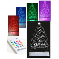 Christmas Tree Colour Changing Night Light