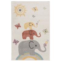 Elephants Rug 80 x 120 cm