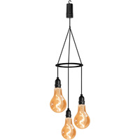 Battery Powered Pendulum 3 x Hanging Lights with Timer