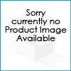 6ft Bean Sofa Lounger Faux Leather Cream