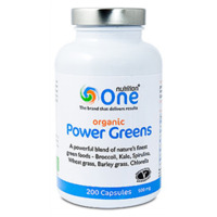 one-nutrition-organic-power-greens-200-capsules