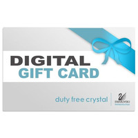Duty Free Crystal Gift Card