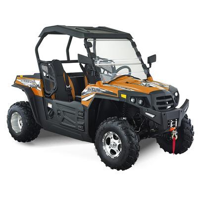 Hisun Strike 250cc Orange Off Road Buggy