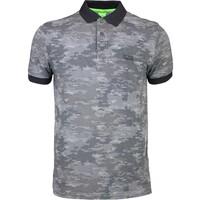 Hugo Boss Paddy 4 Camo Golf Shirt Asphalt FA15