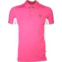 Lyle & Scott Golf Shirt – Ayton Tech Modern Pink SS16