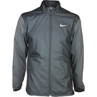Nike Wind Golf Jacket - Full Zip Shield Black SS16