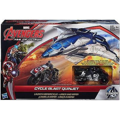 Avengers Cycle Blast Quinjet