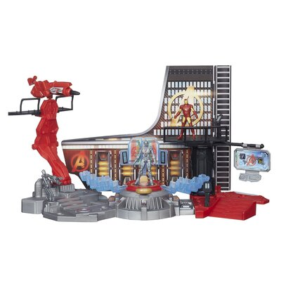 Avengers Marvel Age Of Ultron Iron Man Lab Attack Playset