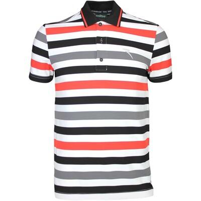 Cherv242 Golf Shirt ARMEGGIO Grey White SS16