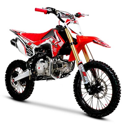 M2R Racing RF160 160cc 17/14 86cm Red Blue Dirt Bike