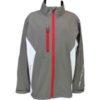 Galvin Green Junior Waterproof Golf Jacket - Richie Gull Grey