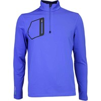 RLX Golf Pullover - Mock Neck Zip - New Periwinkle AW16