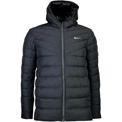 Nike Golf Jacket - Hyperadapt Hooded Down - Black AW16