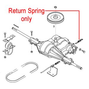 Al Ko Gearbox Return Spring 514605