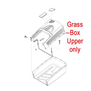 Al Ko Lawnmower Grass Box Upper 452748