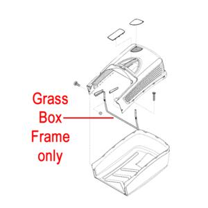 Al Ko Lawnmower Grass Box Frame 46037930