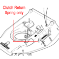 Click to view product details and reviews for Hayter Harrier Clutch Return Spring 1246.
