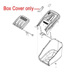 Al Ko Lawnmower Grassbag Box Cover 46346501