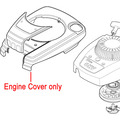 Click to view product details and reviews for Mountfield Rs100 Engine Cover Black 381002079 0.