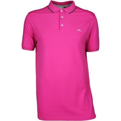 KJUS Golf Shirt - STAN TOUR - Fuchsia SS17