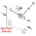 Click to view product details and reviews for Mountfield Lawnmower Right Pinion Gear 122570110 1.