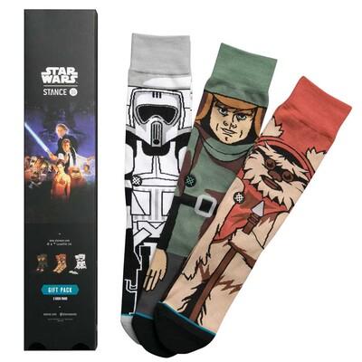 Stance Star Wars Socks Return of the Jedi Three Pack 2017