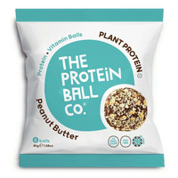 The Protein Ball Company Peanut Butter Protein Balls 45g - Pack of 10