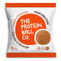The Protein Ball Company Cacao & Orange Balls 45g - Pack of 10